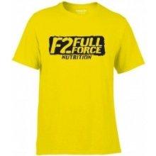 F2 Full Force Tričko žlté
