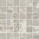 PARADYZ TROPHY Bianco mozaika tónovaná, štruktúra 29,8x29,8 Matné