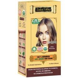 Recenzie Indus Valley 100% Rastlinná farba na vlasy Popolavá Blond ... 231152d5044