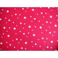 Položiť otázku Látka červená biele drobné hviezdičky - Heureka.sk c523d53aba5