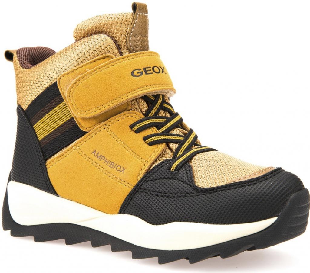 1cf8d32c3 Geox Chlapčenské zimné topánky Orizont žlto-hnedé alternatívy - Heureka.sk