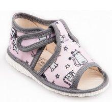 RAK Detské papuče Ružové mačky limitovaná kolekcia c4dc733b7a
