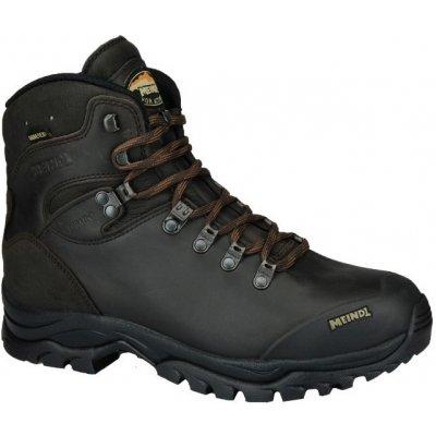 Pánske topánky Meindl Kansas GTX tmavo hnedé tmavo hnedá