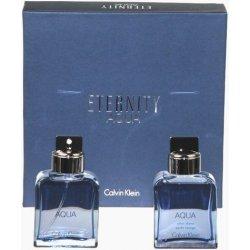 ad2f4d0ec24 Calvin Klein Eternity Aqua Man EDT 100 ml + voda po holení 100 ml darčeková  sada