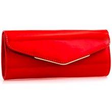 648fd79be0 lakovaná listová kabelka K-L2494 Červená