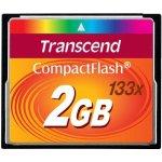 Transcend CompactFlash 2GB TS2GCF133
