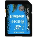 Kingston Ultimate SDXC 64GB UHS-I U1 SDA10/64GB