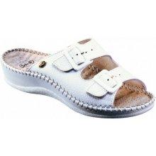 88398e997863 Scholl Weekend bílé zdravotní pantofle