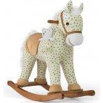 Milly Mally hojdací koník Pony Gray Dot béžová