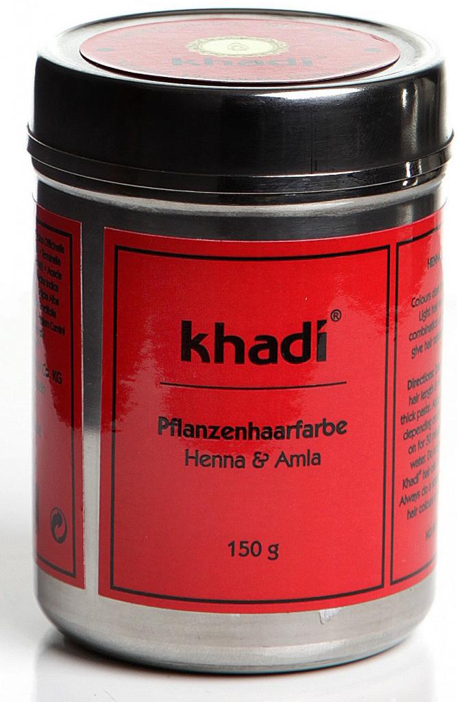 Khadi rastlinná farba na vlasy Henna A mla 150 g od 9 0db7c2727d8