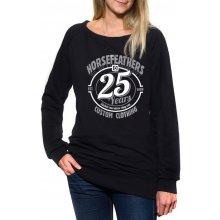 Horsefeathers 25HF Crew Black