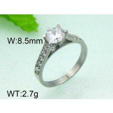Luxusný prsteň s očkom ny3521 chirurgická oceľ 68a32d005a8