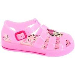 732671196e32 Disney by Arnetta Dievčenské gumové sandále Minnie svetlo ružové ...