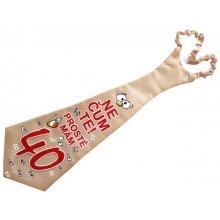 Žartovná kravata k 40