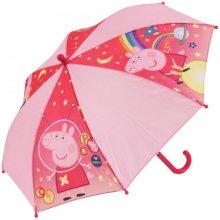 Chanos Vystreľovací dáždnik Peppa Pig Pink pr. 72 cm