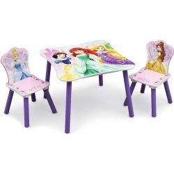 669b2ae2ec51 FORCLAIRE Detský stolík so stoličkami Princess 3 alternatívy ...