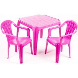 4ac5d61b9e6d1 Grand Soleil Sada stolček a dve stoličky ružová alternatívy - Heureka.sk
