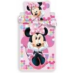 Jerry Fabrics obliečky Minnie pink 03 140x200 70x90