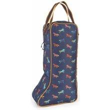 Shires Horse Print Long Boot Bag Horse Print
