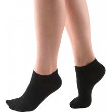 Kotníkové bambusové ponožky Bamboo čierna