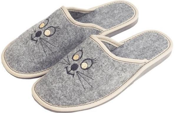 b442158704f5 Dámska topánka Vlnka dámské luxusní filcové papuče micina ...
