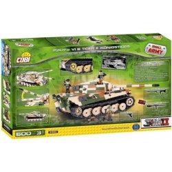 COBI 2480 SMALL ARMY II WW PzKpfw VI Tiger II 600 k 3 f
