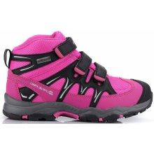 ALPINE PRO Dievčenská outdoorová obuv Tyroll Kids´PTX ružová 625cc27f1a4