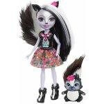 Mattel Enchantimals bábika Sage Skunk s jazvecom