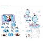 SMOBY 24996 kozmetický stolík so stoličkou 2v1 Frozen +10 doplnkov