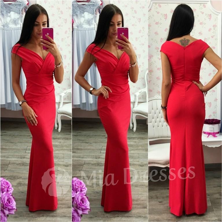 d248437fff61 Spoločenské priliehavé šaty červená - Zoznamtovaru.sk