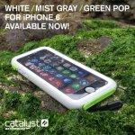 Púzdro Catalyst Waterproof Apple iPhone 6 zelené