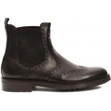 Trussardi Collection Pánske členkové topánky RL-10 VERZUOLO_Fango / Mud