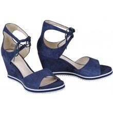 874ffe435d0ec Gerry Weber sandále koža semiš modré