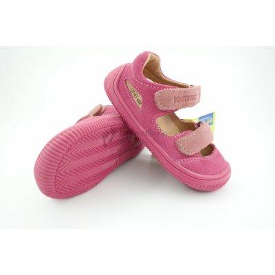 Protetika Detské letné barefoot topánky Berg Pink