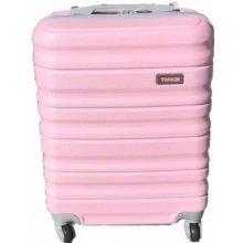 60bd338554370 ABS kufor LOW COST 55x38x20cm Svetloružový / Baby Pink