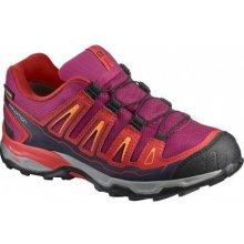 Salomon X-Ultra GTX J sangria poppy red 392917 dětské nízké nepromokavé boty c82bef1dfca