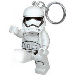 Prívesok na kľúče LEGO® LED Lite Detská svietiaca figúrka Star Wars  Stormtrooper biela df41dd4853f