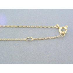2b4f3406e MARM Design Zlatá dámska retiazka s príveskom žlté zlato kamienky DR43238Z