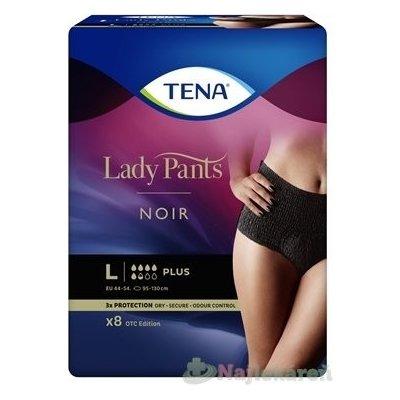 TENA Lady Pants PLUS NOIR LARGE 8ks - Tena Lady Pants Plus Noir L 8 ks 725266