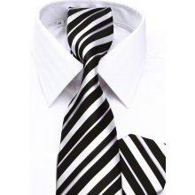 cce4747aa0a9 Klemon Biela košeľa na manžetové gombíky 20-001 (klasický strih)