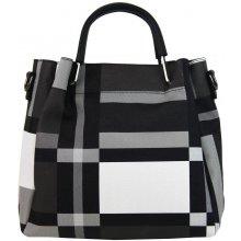 87866a2fde6c Gallantry elegantná dámska kabelka do ruky Čierno-biela