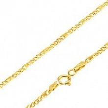Šperky eshop Zlatá retiazka GG69.04