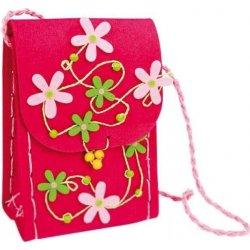 Detská filcová kabelka cez rameno Flora od 6 8de43e1bfab