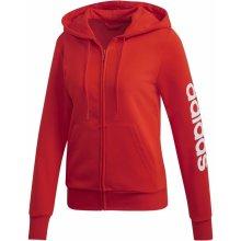 0436a119c5 Adidas W Essentials Lin Fz Hd červená