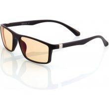 Arozzi Visione VX 200 černé obroučky jantarová skla