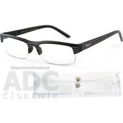 American Way okuliare na čítanie FLEX čierne s pruhmi + púzdro fb767532c9f