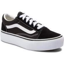 VANS Old Skool Platfor VN0A3TL36BT1 Tenisky Black True White 4f61975486