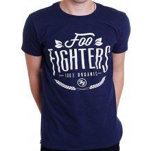 Foo Fighters Pánske tričko ORGANIC modrá