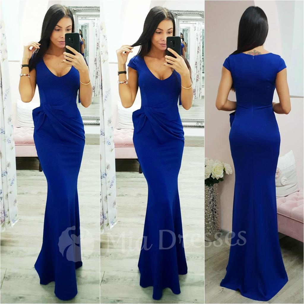 916a1f3ca6f7 Modré spoločenské šaty s mašľou alternatívy - Heureka.sk