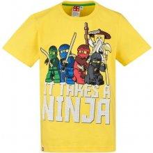 Tričko Lego Ninjago KR žlté